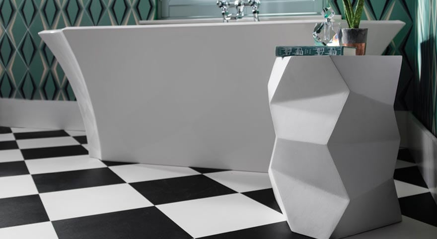 Square Checkerboard Vinyl